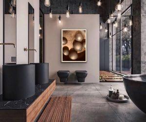 Fine art photography : Our fine art photography in the interior designed by Serosez.